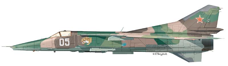 МИГ-27 Борт №05