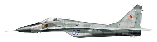 МИГ-29 Борт №07