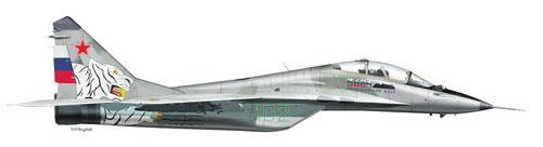 МИГ-29УБ Борт №102