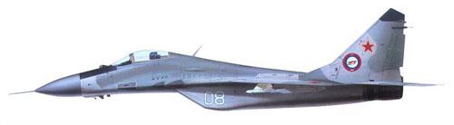 МИГ-29 Борт №08