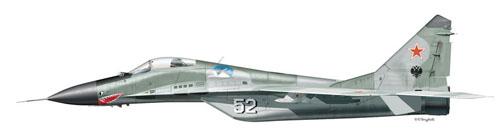 МИГ-29 Борт №52