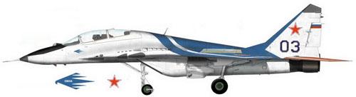МИГ-29УБ Борт №03
