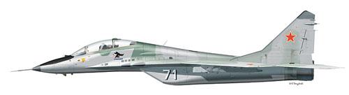 МИГ-29УБ Борт №71