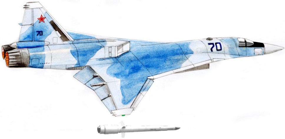 Дальний сверхзвуковой перехватчик 701