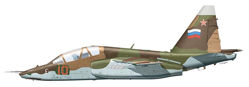 """Су-25УБ """"борт 10"""""""
