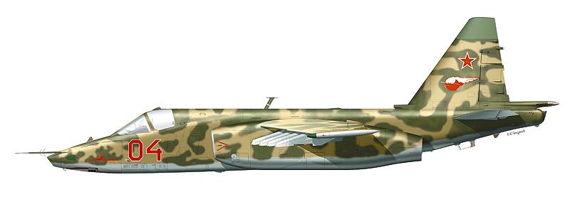 """Су-25 """"борт 04"""""""