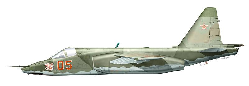 """Су-25 """"борт 05"""""""