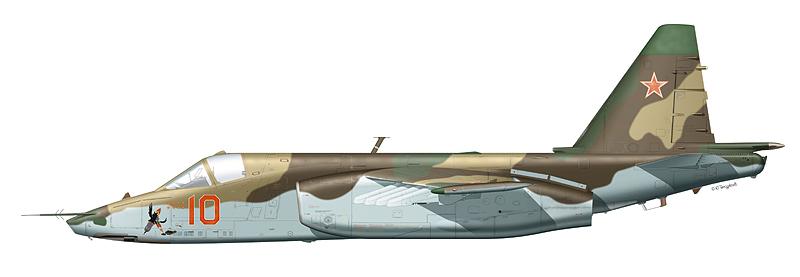 """Су-25 """"борт 10"""""""