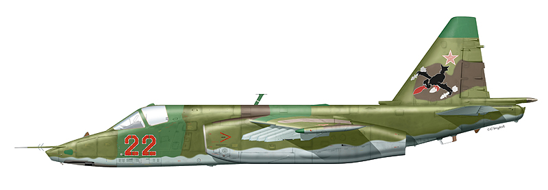 """Су-25 """"борт 22"""""""