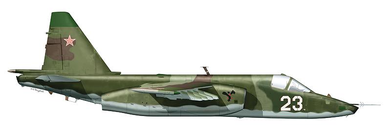 """Су-25 """"борт 23"""""""