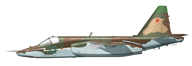 """Су-25 """"борт 32"""""""