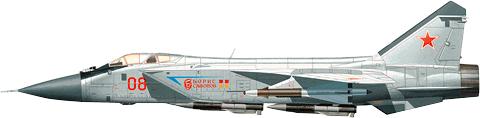 Многоцелевой истребитель МиГ-31Ф/ФЭ