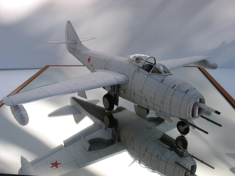 Схемы бумажных моделей МиГ-9