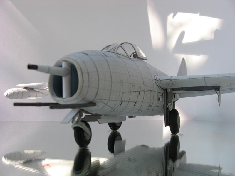 Бумажная модель МИГ-9