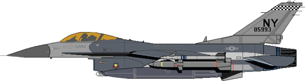 Боковик истребителя F-16