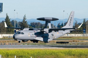 Самолёт C-295-AEW разрешение 1200х792