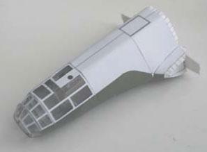 этапы сборки бумажной модели dornier 17p