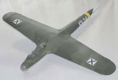 фюзеляж и крылья самолёта DO 17P