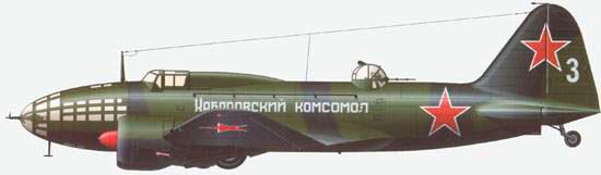 Дальний бомбардировщик Ильюшин ИЛ-4