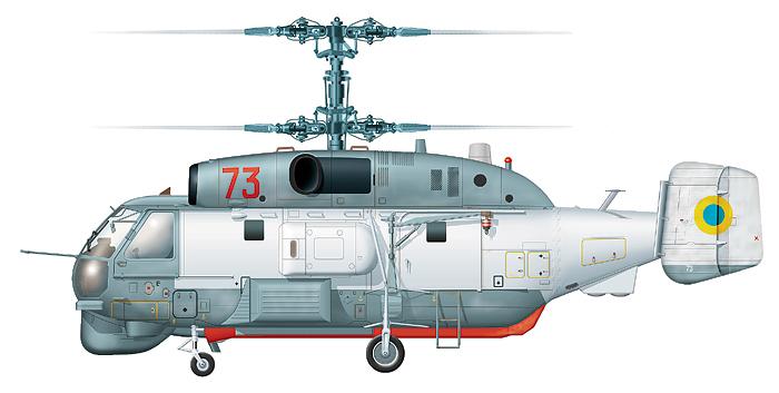 "Ка-27ПС ""борт 73"" авиации ВМФ Украины"