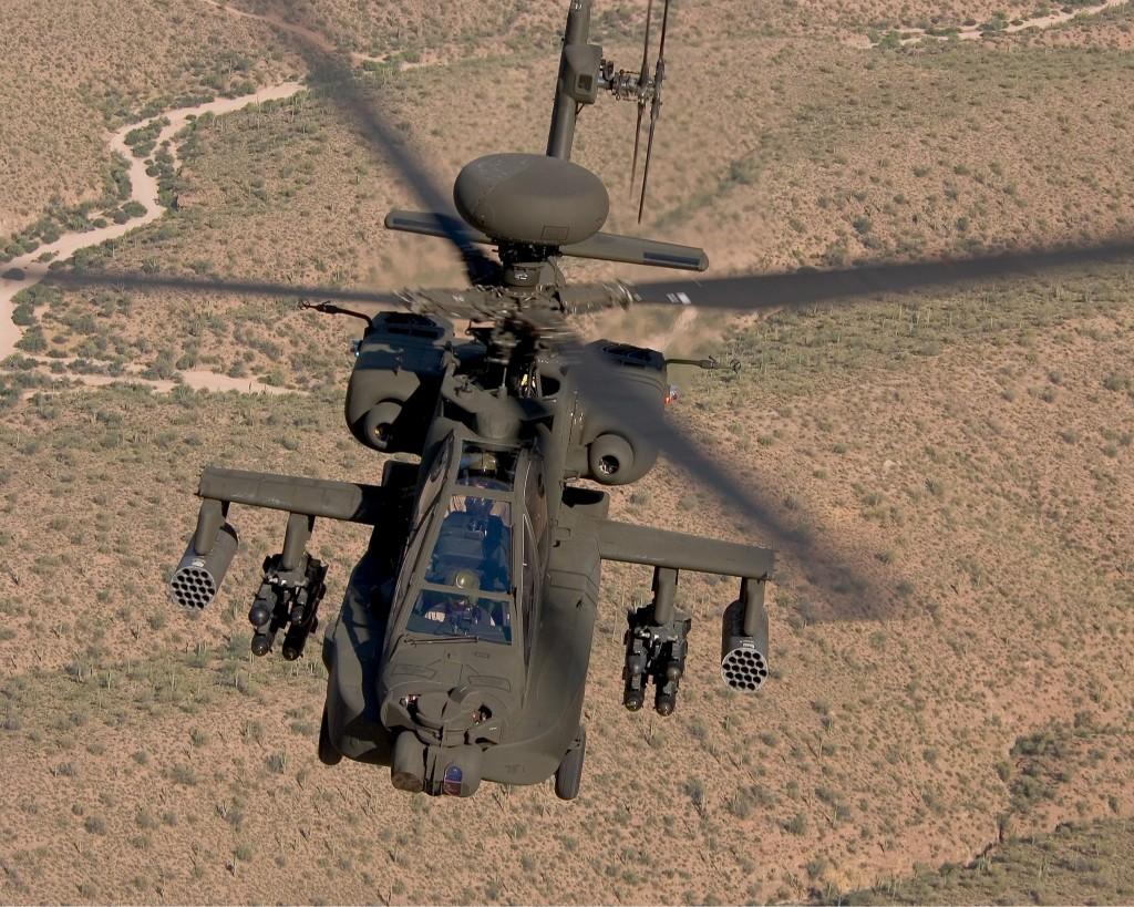 Ударный вертолёт AH-64D Apache Block III разрешение обоев 3000 х 2400 px