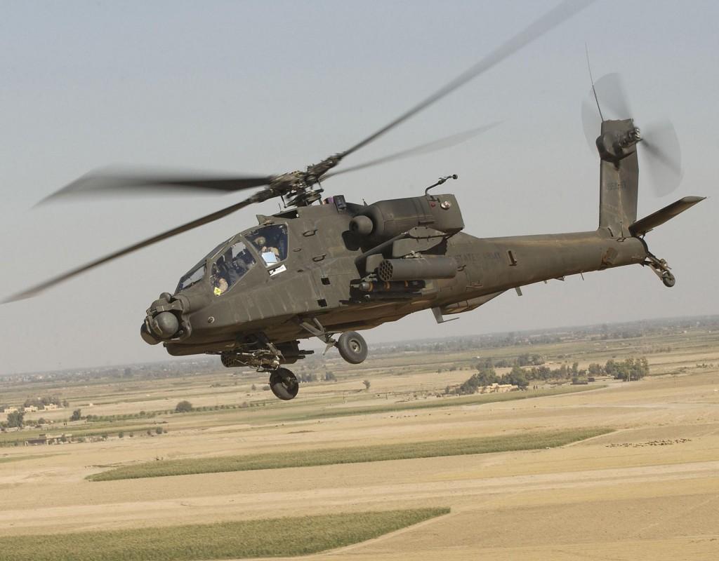 Вертолёт AH-64D Apache Block III разрешение обоев 2400 х 1890 px