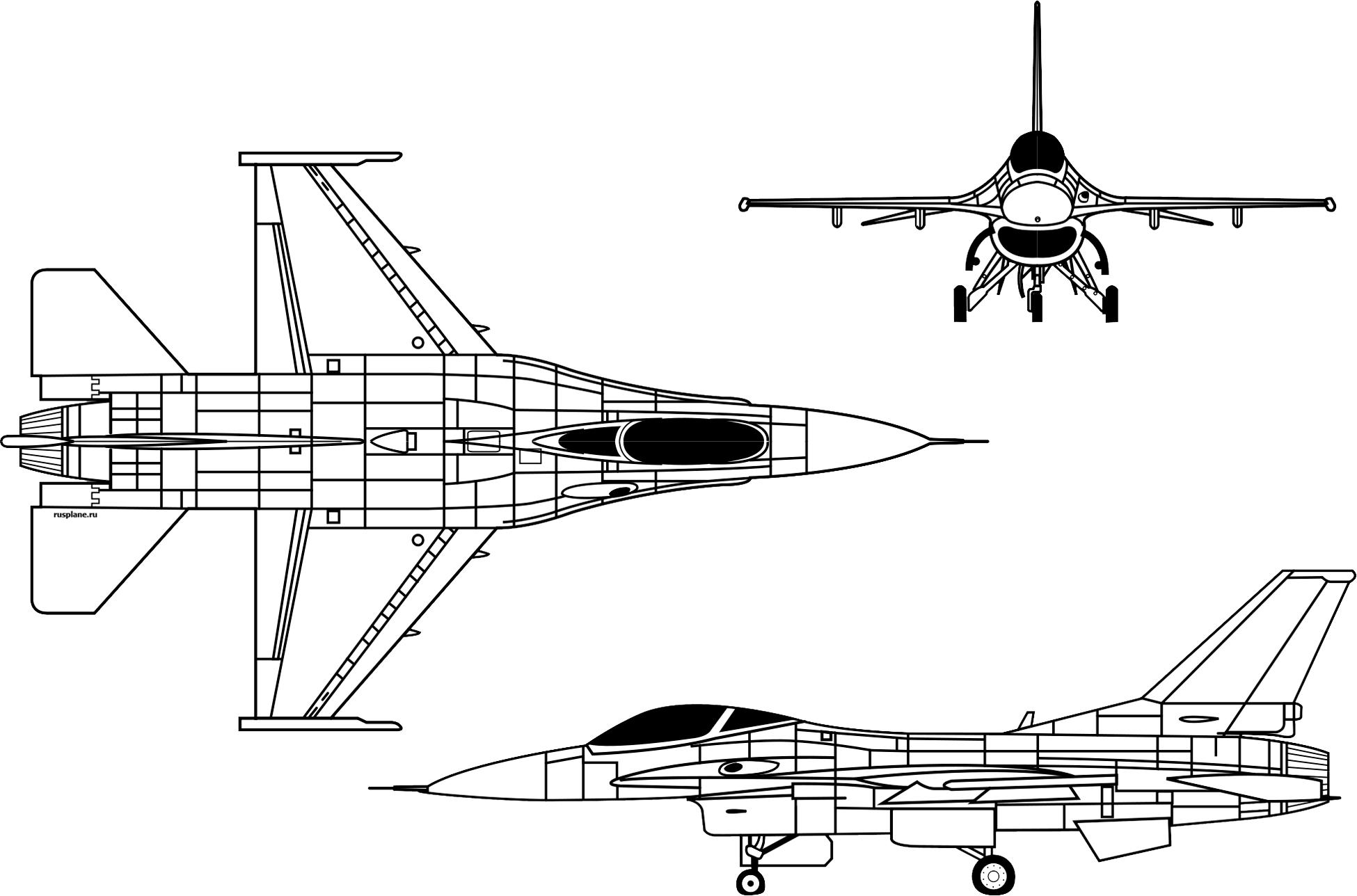 Обои Самолёт, F16. Авиация