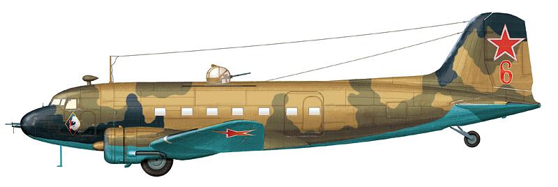 "Ли-2 ""борт 6"" (зав. № 1848703), начало мая 1944 г."