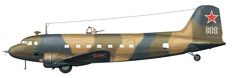 "Ли-2 ""борт 808"" из состава 62-й АД ДД, 1943 г."